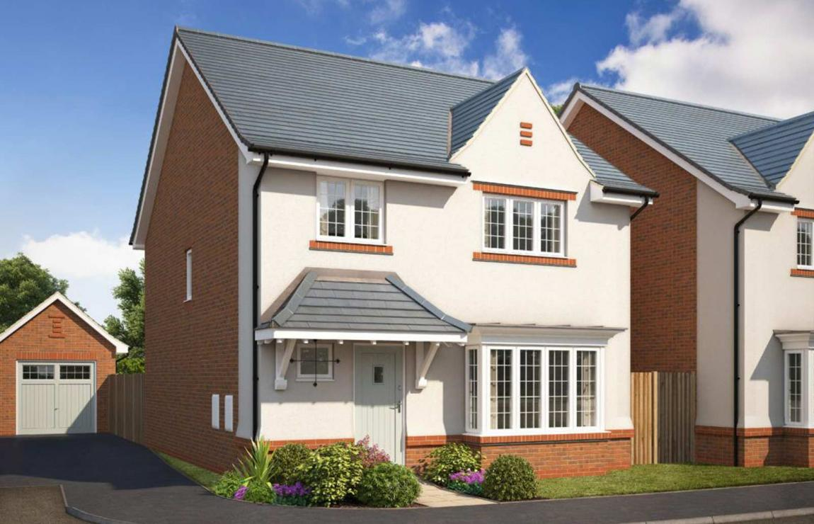A new build house from Eccleston homes